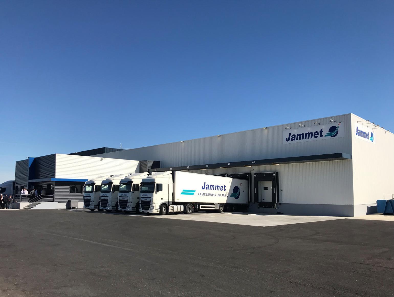 Actus Cecia Ingénierie - Construction d'un site logistique agroalimentaire pour Jammet à Fleuré